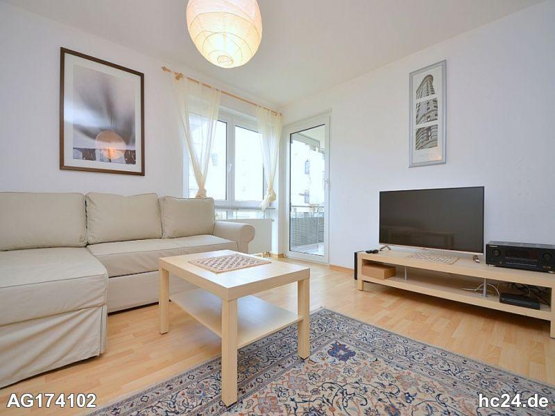 Schön möblierte, sonnige Wohnung in Stuttgart Botnang